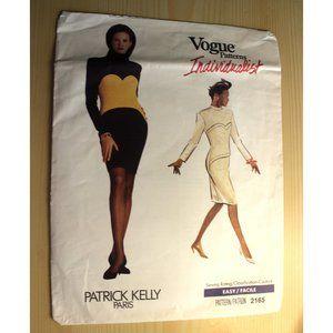 CUT VOGUE 2165 sewing pattern Patrick Kelly dress